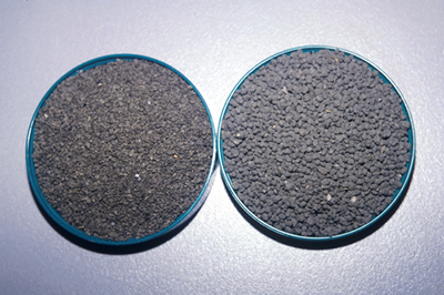 Granulated and pelletized products